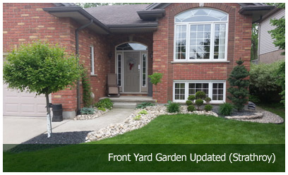 Front Yard Garden Updated (Strathroy)
