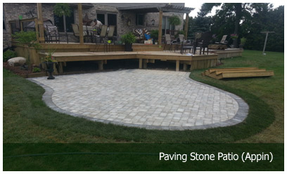 Paving Stone Patio (Appin)